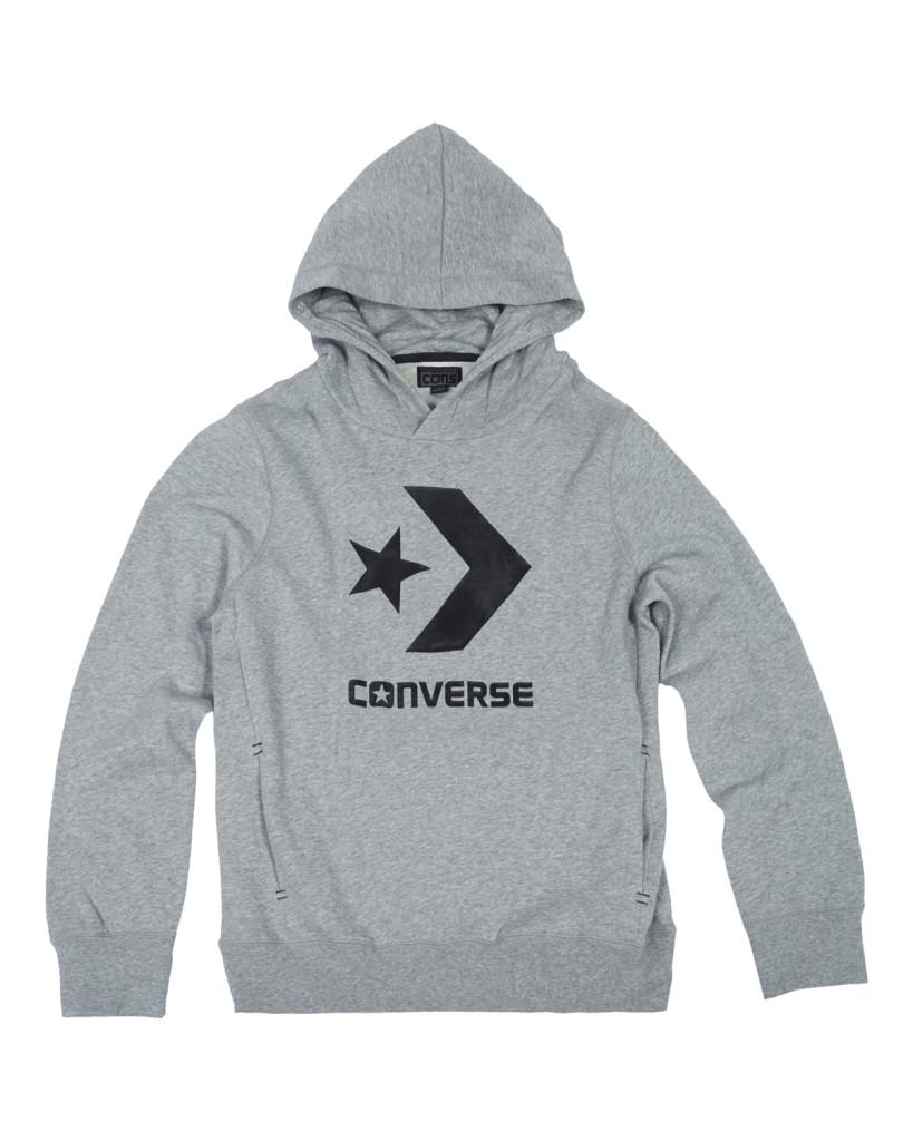 lo último eed7d 0074c Converse Sudadera Hombre Core Popover (gris)