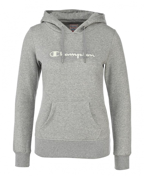 Mujer Capucha Sudadera Champion Rochester Authentic gris Ny qw5qvcE8Z