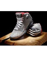 "Adidas Derrick Rose 3.5  ""GreyRed"" (gris/blanco/rojo)"