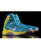 "Nike Zoom Hyperquickness ""Beach"" (300/turquesa/amarillo/gris)"