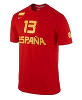 """Cubre Camiseta España """"Marc Gasol"""" (657/rojo/amarillo)"""