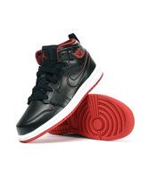 Jordan 1 Mid BT (028/negro/blanco/rojo)(19.5-27)