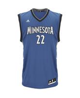 Camiseta Adidas NBA Swingman Andrew Wiggins Minnesota (azul/blanco)