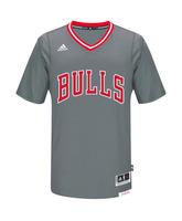 Camiseta Réplica Jersey NBA Chicago Bulls (gris/rojo/blanco)