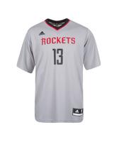 Adidas Camiseta Réplica James Harden Rockets (gris/negro/rojo)
