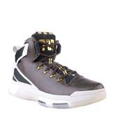 "Adidas D Rose 6 Boost ""BHM"" (negro/marrón piel/blanco/oro)"