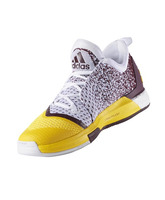 """Adidas Crazylight Boost 2.5 Low """"Sun Devils"""" (amarillo/granate/blanco)"""