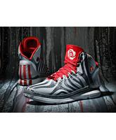 "Derrick Rose 4.5 ""Scarlet"" (gris/rojo/blanco)"