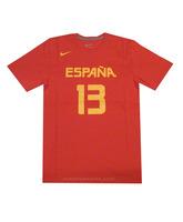 Camiseta Cubre Marc Gasol #13# España (602/rojo/amarillo)