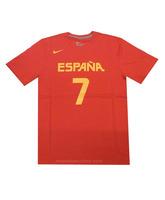 Camiseta Cubre Navarro #7# España (601/rojo/amarillo)