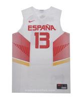 Camiseta Réplica Marc Gasol #13# España 2014 (102/blanco/rojo)