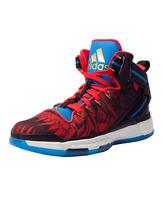 "Adidas D Rose 6 Boost ""Fire Monkey"" (negro/rojo/azul)"