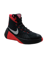 "Nike Hyperdunk 2015 GS ""Bulls""(006/negro/rojo/gris)"