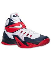 "Nike Zoom LeBron Soldier VIII ""USA"" (114/blanco/navy/rojo)"