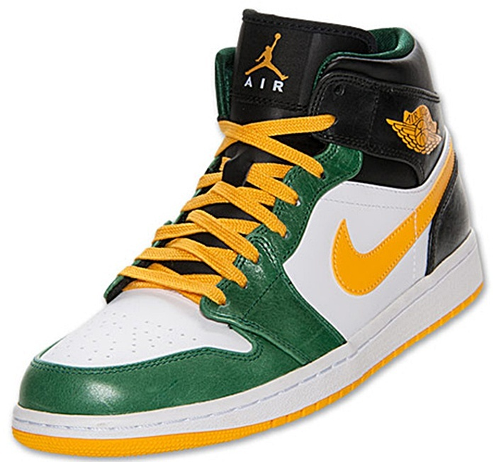 AIR JORDAN amarillo