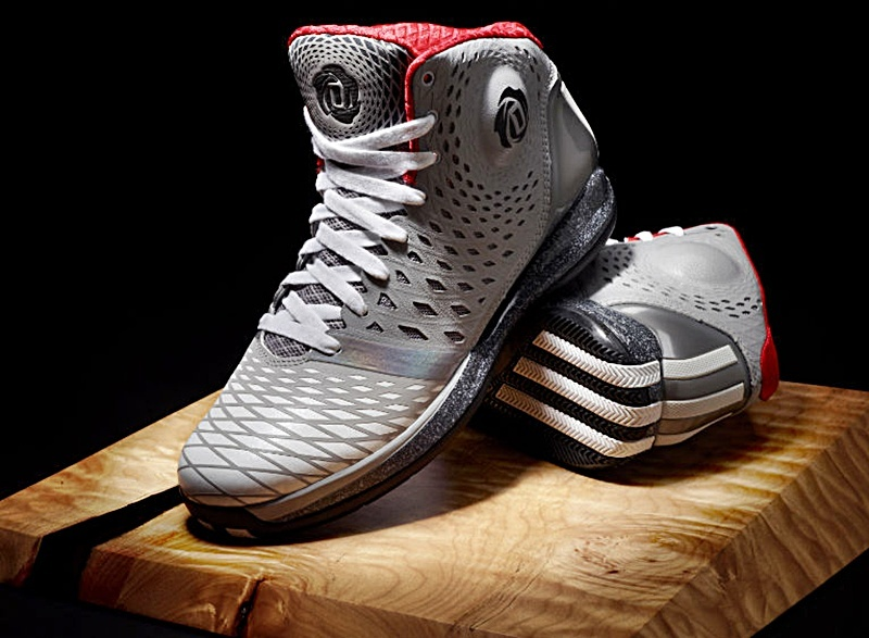 low priced ec79d 8f186 ... coupon for adidas derrick rose 3.5 greyred gris blanco rojo 23afe 7d3b0