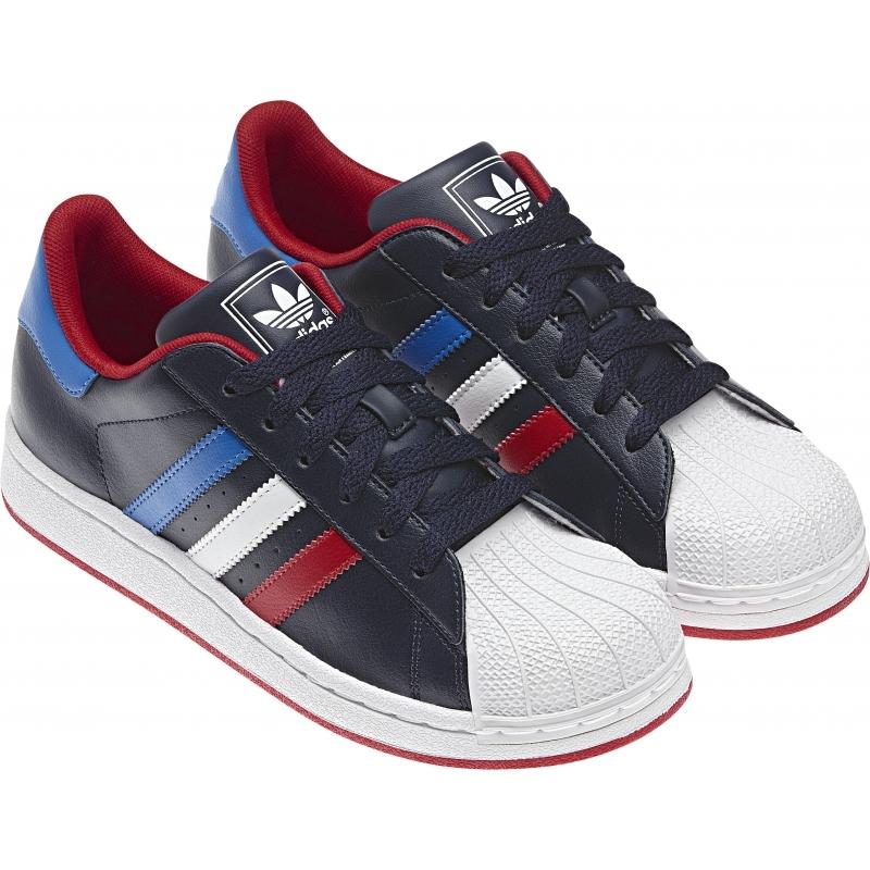 Adidas Superstar 2 J (marinoblancoazulrojo)