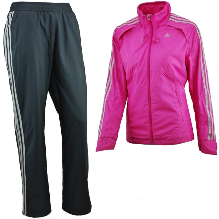 Adidas Chandal Clima Woven Suit (rosa negro) 573fee9166714