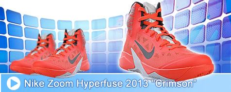 Nike Zoom Hyperfuse 2013 - Bloody Red