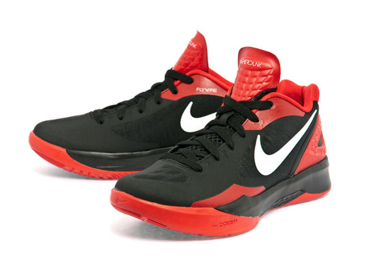 brand new b582e 3a064 Nike Zoom Hyperdunk 2011 Low (002 negro rojo)