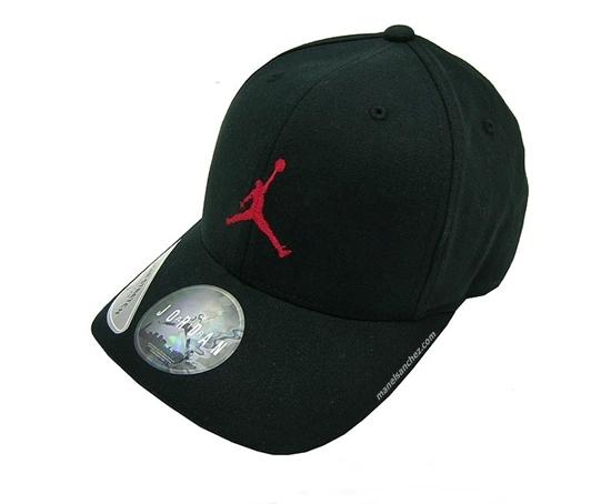 1c2098f71a94 Gorra Jordan Classic Fits Like (012/negra/rojo)