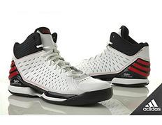 best sneakers 97a38 7f808 Adidas Derrick Rose 773 Light (blanco negro rojo)