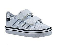 new concept 5ee1c 2d03e Adidas Vulc Lea I Inf (blanco marino)