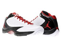 innovative design 5777e c32b2 Air Jordan Wade D Reign (102 blanco rojo negro)