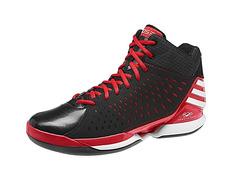 lowest price 40f94 e4dd7 Adidas Derrick Rose 773 Light (negro rojo)