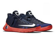 Nike KD Trey 5 IV, Zapatillas de Baloncesto para Hombre, Rojo (Bright Crimson/White-University Red), 43 EU