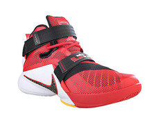 size 40 a6ca6 a05f1 ... coupon code nike zoom lebron soldier 9 darius adams 606 university red  black 28555 90c22
