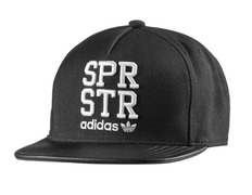 Adidas Originals Gorra Superstar Snap-Back (negro blanco) 419013ebb6f