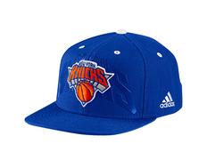 Adidas NBA Gorra New York Knicks Anthem Hat (azul naranja) 6f237d61656