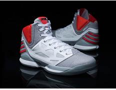 best website f49e2 b9370 Adidas AdiZero Rose 2.5 (blanco gris rojo)