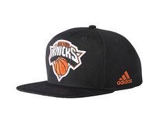 Adidas NBA Knicks Flap Cap (black white orange) 5718163f811