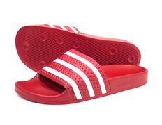 more photos 28a6c cf615 Adidas Originals Adilette (rojo blanco)