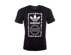 quality design 04c2c 0aa28 Adidas Originals Camiseta Graphic Daisy Flowers By Pharrell Williams