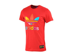 Adidas Originals Camiseta Mono Color Trefoil Pharrell Williams (roja) 6387d3844caba