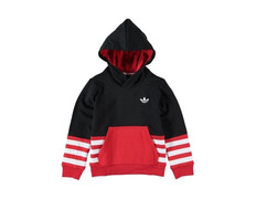 quality design 5d45b 79998 Adidas Originals FL J Hoodie (black red white)