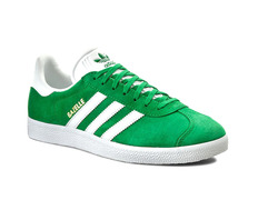 the best attitude f679f a2926 Adidas Originals Gazelle (verde blanco)
