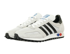 on sale ae735 b6328 Adidas Originals L.A Trainer OG (vintage white core black clear brown)