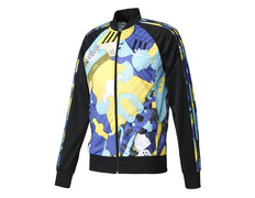 promo code 11e05 87eca Adidas Originals Shoe Montage AOP Track Top (multicolor black)
