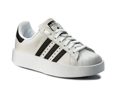 adidas superstar blanco y dorado