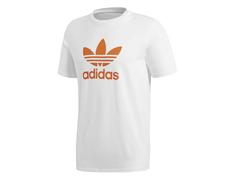 Adidas Originals Trefoil T-Shirt (White Craft Orange) 3112388165d6e