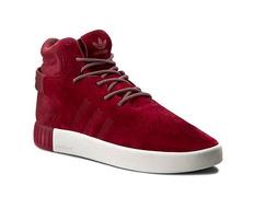 lowest price 1c5dc 96d08 Adidas Originals Tubular Invader (Burgundy Mystery Red Vintage White)