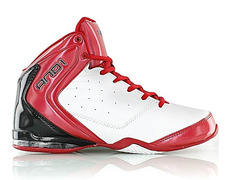 best service a7c47 027c3 And1 Master Mid 2 Niño (blanco rojo gris)