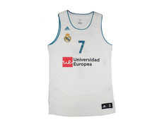 Camiseta Niñ@ Réplica Luka Doncic #7# R. Madrid 2017/18 (1ª Equipación)
