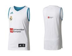 Camiseta Real Madrid Basket 2017/18 (1ª Equipación)