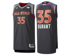Camiseta Réplica Durant  35  All Star 2017 New Orleans 214d6d8f1b5