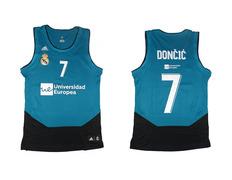 Camiseta Réplica Luka Doncic #7# R. Madrid 2017/18 (2ª Equipación)